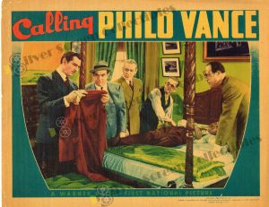 Lobby Card From Calling Philo Vance