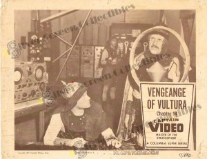 Lobby Card from Captain Video Master of the Stratosphere