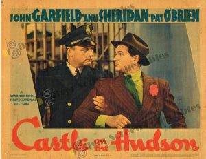 Lobby Card From Castle on the Hudson