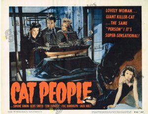 Lobby Card from Cat People