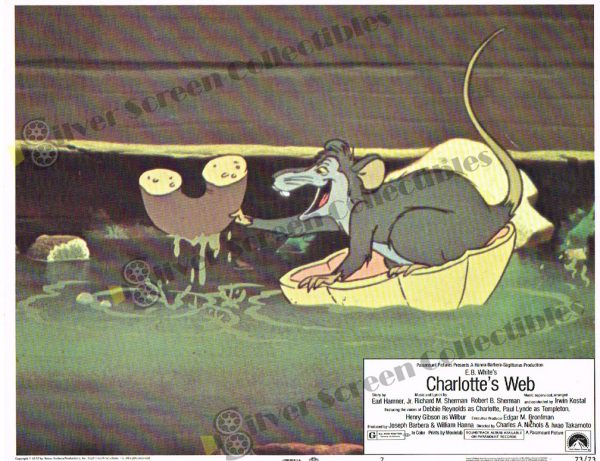 Lobby Card from Charlotte's Web
