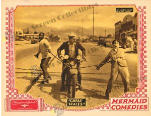 Lobby Card from Cheap Skates
