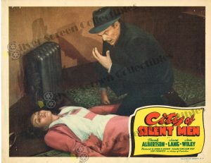 Lobby Card From City of Silent Men