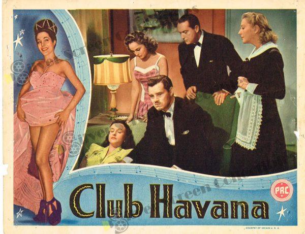 Lobby Card from Club Havana