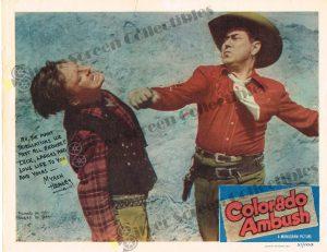 Lobby Card from Colorado Ambush