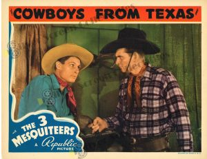 Lobby Card From Cowboys From Texas
