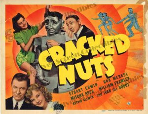 Lobby Card From Cracked Nuts