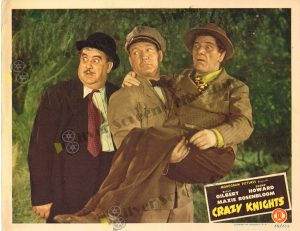 Lobby Card From Crazy Knights