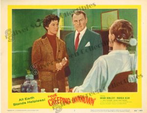 Lobby Card from The Creeping Unknown