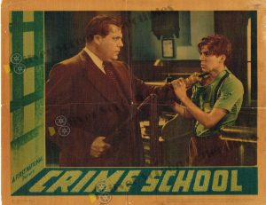 Lobby Card From Crime School