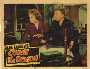 Lobby Card from Curse of the Demon