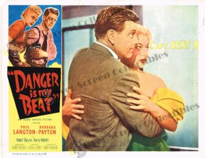 Lobby Card From Danger is my Beat