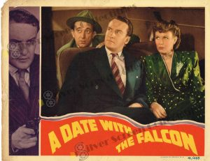 Lobby Card From A Date with the Falcon