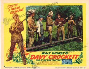 Lobby Card from Davy Crockett: King of the Wild Frontier