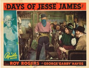 Lobby Card From Days of Jesse James