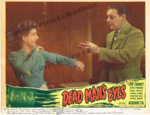Lobby Card from Dead Man's Eyes