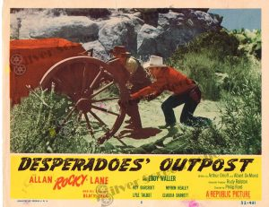 Lobby Card From Desperadoes' Outpost