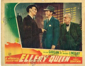Lobby Card From Desperate Chance for Ellery Queen