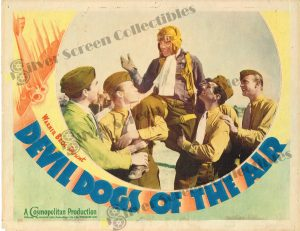 Lobby Card From Devil Dogs of the Air