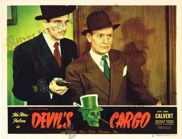 Lobby Card From Devil's Cargo