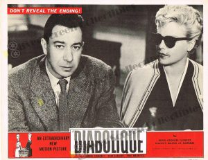 Lobby Card from Diabolique