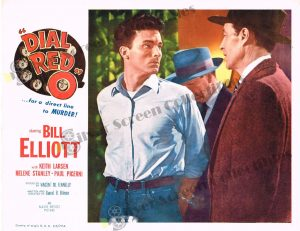 Lobby Card From Dial Red O