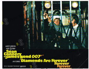 Lobby Card from Diamonds Are Forever