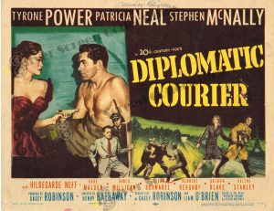 Lobby Card From Diplomatic Courier