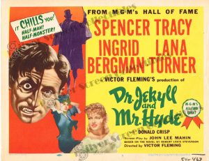 Lobby Card from Dr. Jekyll and Mr. Hyde