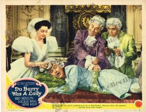 Lobby Card From Du Barry was a Lady