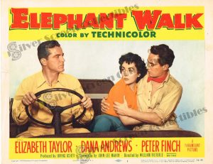 Lobby Card from Elephant Walk