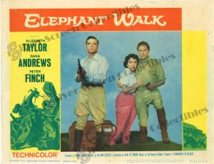 Lobby Card from Elephant Walk