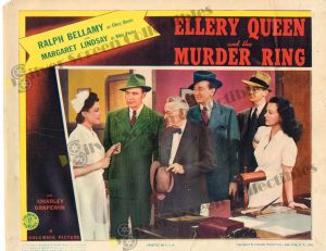 Lobby Card From Ellery Queen and the Murder Ring