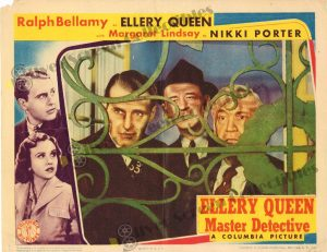 Lobby Card From Ellery Queen Master Detective