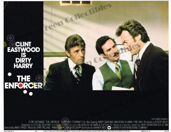 Lobby Card from The Enforcer