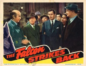 Lobby Card From The Falcon Strikes Back