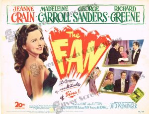 Lobby Card From The Fan