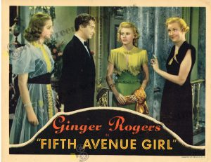 Lobby Card From Fifth Avenue Girl