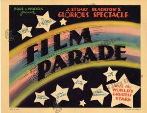 Lobby Card from Film Parade