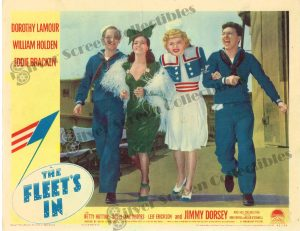 Lobby Card from The Fleet's In