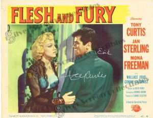 Lobby Card from Flesh and Fury