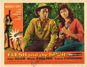 Lobby Card from Flesh and the Spur