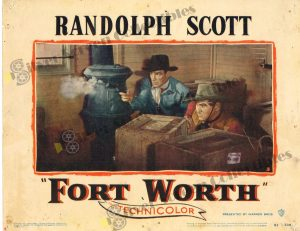 Lobby Card From Fort Worth
