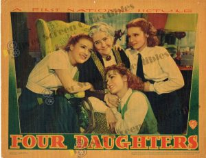 Lobby Card from Four Daughters