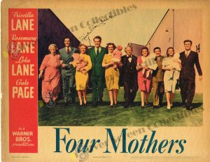 Lobby Card from Four Mothers