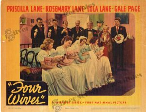 Lobby Card from Four Wives