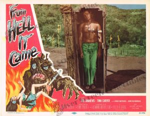 Lobby Card from From Hell it Came