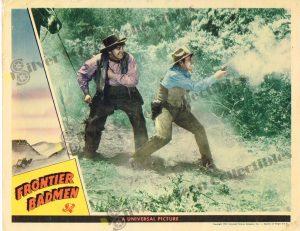 Lobby Card From Frontier Badmen