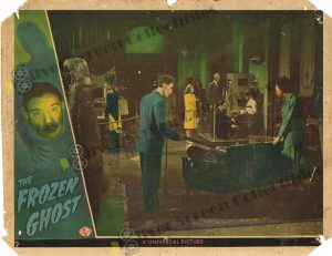 Lobby Card from The Frozen Ghost