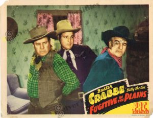 Lobby Card From Fugitive of the Plains
